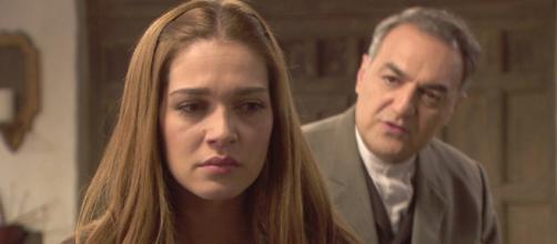 Il Segreto anticipazioni: Julieta e il padre