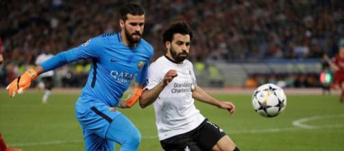 La Roma acepta la oferta del Liverpool por Alisson Becker (Rumores)