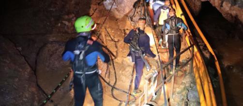TAILANDIA / Los niños rescatados dicen que todos decidieron entrar en la cueva