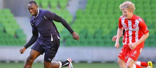 Usain Bolt podría jugar en el equipo de fútbol australiano Central Coast Mariners