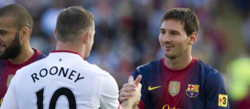 Wayne Rooney afirma que Lionel Messi es mejor que Cristiano Ronaldo