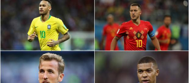 Hazard, Neymar, Kane and the top candidates to replace Ronaldo at ... - stadiumastro.com