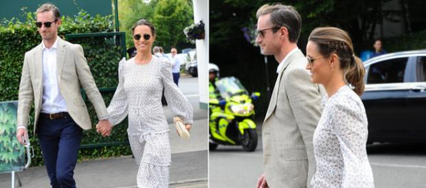 Pippa Middleton encanta en Wimbledon con un exquisito peinado de trenzas