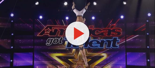'America's Got Talent' viewers and judges shocked as trapeze artist falls