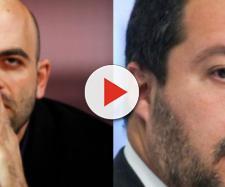 Continua il dibattito tra Matteo Salvini e Roberto Saviano.