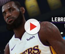 LeBron James received a 98 overall rating in 'NBA2K19.' [Image source: NBA2K19 - Twitter]