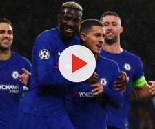 L'esultanza dei giocatori del Chelsea