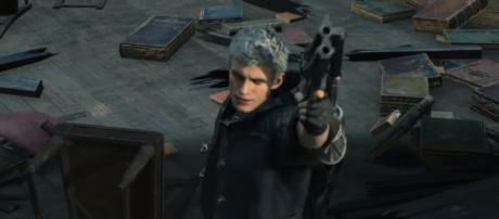 Nero and Dante will thwart a demonic invasion in Red Grave City in 'Devil May Cry 5' [Image Credit: Devil May Cry/YouTube screencap]