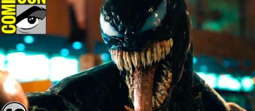 Photo of Venom in new movie. - [Top Ten Nerd Channel / YouTube screencap]