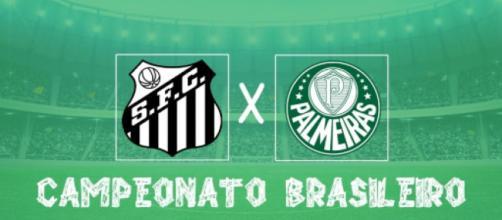 Santos x Palmeiras ao vivo, clássico pelo brasileirão