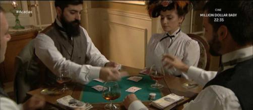 Una Vita: Trini e Antonito coinvolti nel gioco d'azzardo