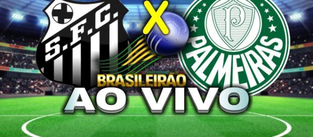 Santos recebe o Palmeiras pela 13ª rodada do Campeonato Brasileiro