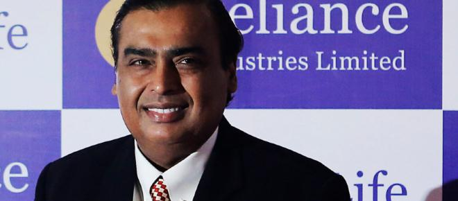 Mukesh Ambani is now the richest man in Asia