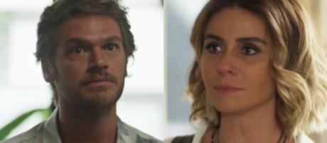 Beto e Luzia, personagens de 'Segundo Sol'.