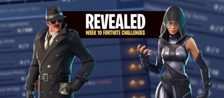 Week 10 challenges for 'Fortnite Battle Royale' have been revealed. [Image Credit: Own work]