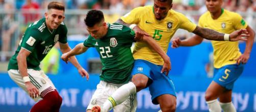 Brasil venció a México con un gol de Neymar