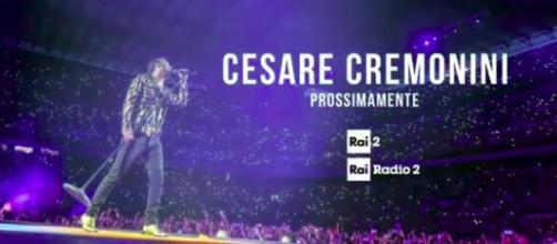 Cesare Cremonini su Rai 2 con il concerto di San Siro
