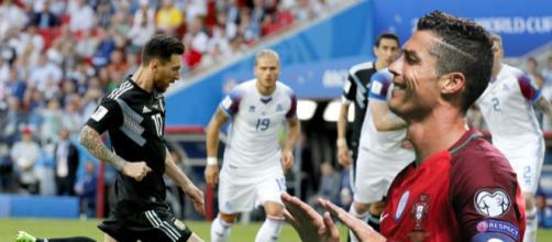Messi y Cristiano Ronaldo decepcionaron en el Mundial de Futbol en Rusia