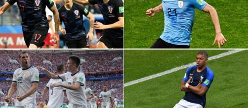 Mundial de fútbol: se van formando los cruces de cuartos de final en Rusia 2018