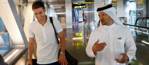 Gabi Fernández viajó a Qatar para cerrar su fichaje con el Al Sadd