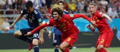 La Belgique a réussie a renverser le Japon, alors qu'elle était menée 2 à 0.