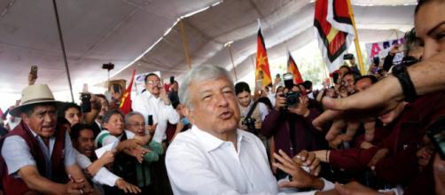 Nuevo presidente electo en Mexico Andres obrador