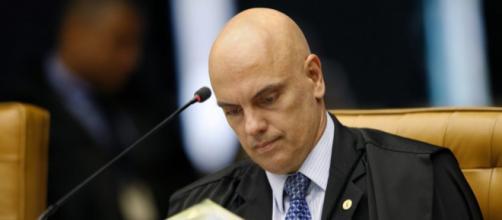 O ministro Alexandre de Moraes mantém decisões do TRF-4 e der Edson Fachin - Galeria BN
