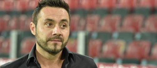 Roberto De Zerbi, tre mesi di squalifica all'ex tecnico del Foggia