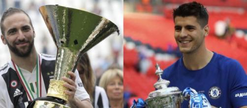 Si vocifera di un possibile scambio Higuain-Morata: la Juventus e il Chelsea ci pensano - europacalcio.it