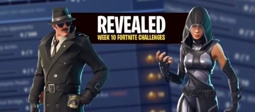Week 10 challenges for 'Fortnite Battle Royale' have been revealed. [Image Credit: Own work]