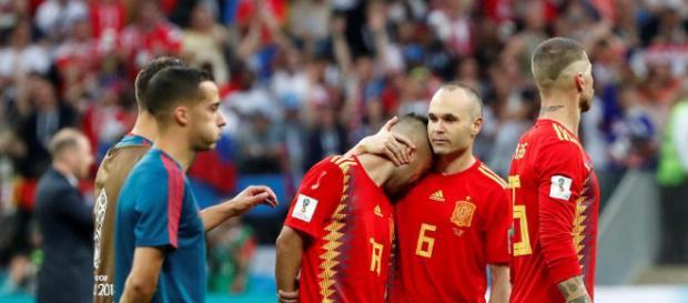 La decepción inunda a España tras la derrota que los elimina de este mundial de Rusia 2018