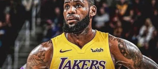 LeBron and the Lakers [Image by nba_post_tr / Instagram]