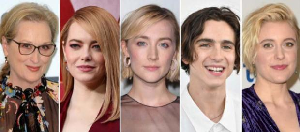 """Several famous actors are pegged to play roles in the upcoming adaptation of """"Little Women"""" directed by Greta Gerwig. [Image @Variety/Twitter\"""