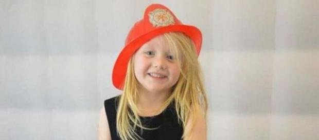 The body of 6-year-old Alesha McPhail was discovered just hours after she was reported missing. [Image @mrkjdw/Twitter]