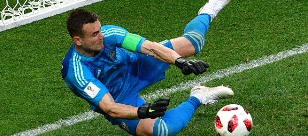World Cup 2018: Igor Akinfeev saves twice as Russia beat Spain on ..(Image: FIFA 2018/Twitter)