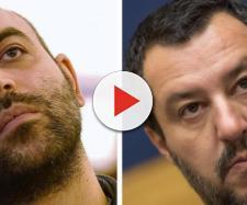 Matteo Salvini querela Roberto Saviano che risponde