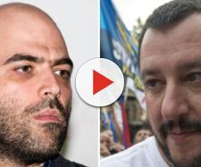 Querela a Saviano, Asia Argento insulta Salvini e lui la invita a prendere un caffè