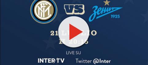 Inter-Zenit San Pietroburgo, diretta anche sull'account Twitter del club nerazzurro