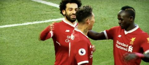 Salah, Firmino e Mané [Imagem via YouTube/NBC Sports]