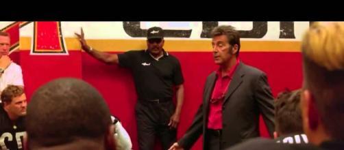 Al Pacino in Ogni maledetta domenica in onda su La7 stasera 20 luglio ore 21.15
