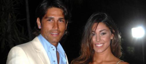 Belen Rodriguez e Marco Borriello paparazzati a Formentera.