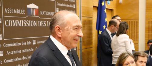 Gérard Collomb devant la commission d'enquête de l'Assemblée nationale ce lundi 23 juillet 2018