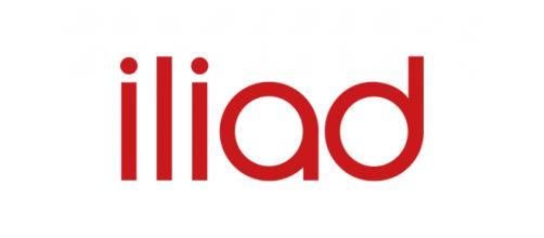 Iliad - Logo della compagnia mobile