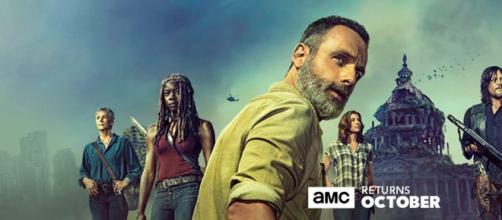 Poster oficial da 9ª temporada de The Walking Dead