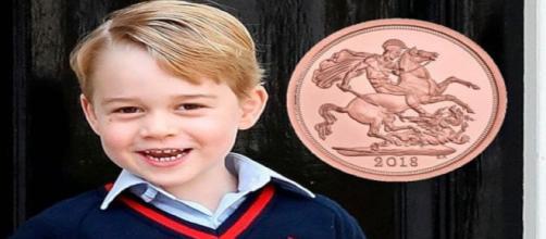 Prince George compie 5 anni: in regalo moneta con la leggenda di San Giorgi e il Drago