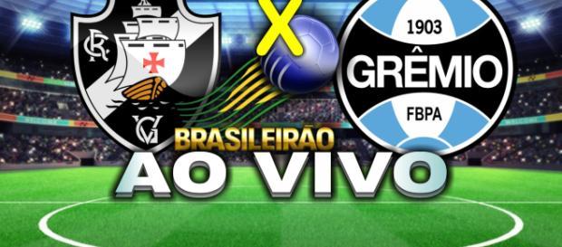 A partida entre Vasco e Grêmio começa às 16 horas, ao vivo pelo Premiere