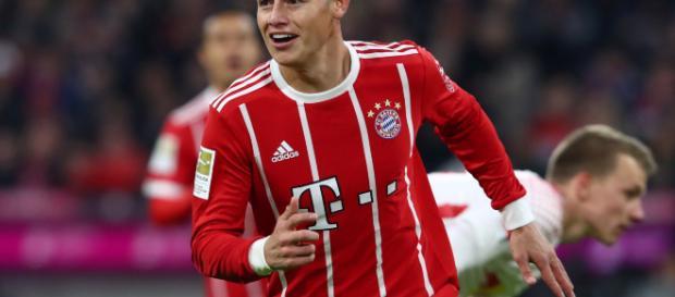 James Rodríguez no regresará al Madrid en verano y seguirá en préstamo en el Bayern Münich