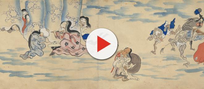 Los monstruos de Japón visitan la Academia de San Fernando en España