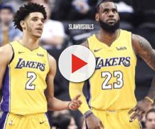 LeBron James and Lonzo Ball. - [slamvisuals / Instagram]