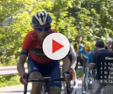 Vincenzo Nibali è stato costretto al ritiro al Tour de France